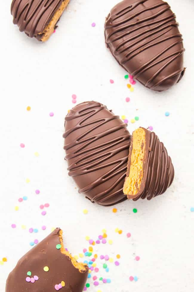 Vegan Peanut Butter Eggs for the win. This is what you'll want to find in your Easter Basket!